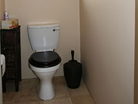 Holiday residence: separate Toilet